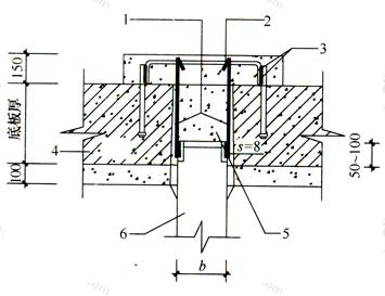 图7 锚杆静压桩封桩节点示意