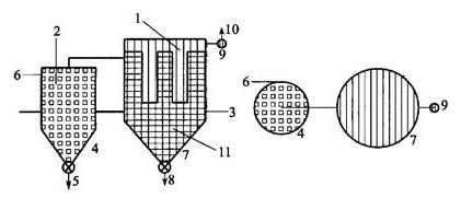 图D.0.4 建筑物外的旋风分离器和过滤器