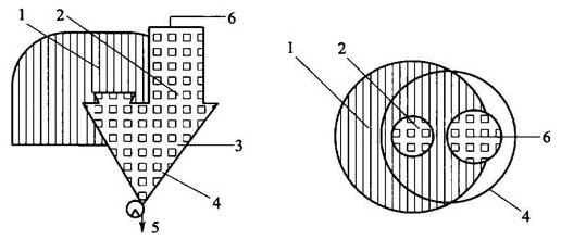图D.0.3 建筑物内配置抽气通风设施的倒袋站