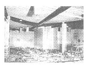 英国cardington 火宅试验中压型钢板楼板的大烧度变形