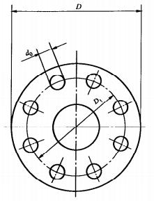 法兰式消火栓法兰连接尺寸