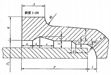 承插式消火栓承插口连接尺寸