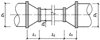 图3 节流管结构示意图