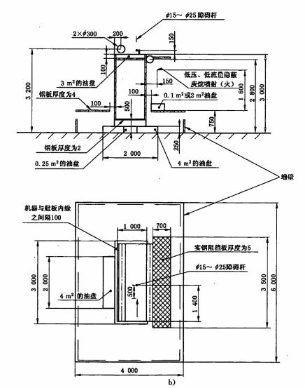 图3 发动机模型及油盘布置图(2)