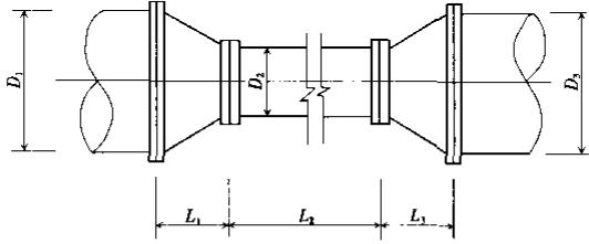 图22 节流管结构示意图