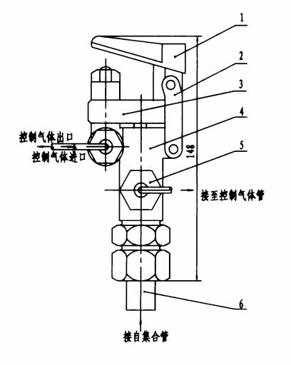 图7 释放器