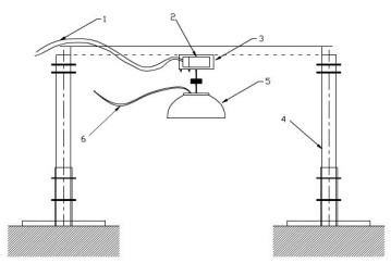 图2 喷射反作用力与作用时间测试装置