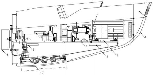 图4 风电机舱灭火模型