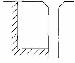 图4.1.2-1 基地与道路红线相邻接