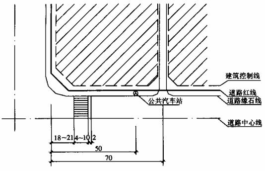 图4.1.5 基地机动车出入口