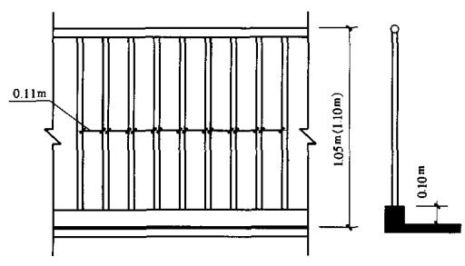 图6.6.3-2 垂直栏杆