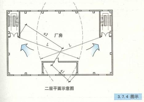 3. 7. 4  圖示  二層平面示意圖