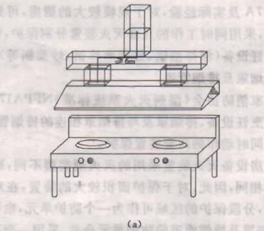 图3 排烟管道保护长度示意图(a)