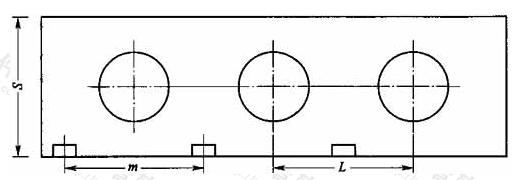 图1 消火栓单列布置图