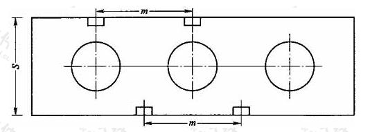 图2 消火栓双列布置图