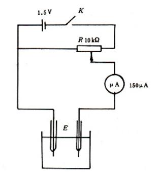 图2 终点控制电路图