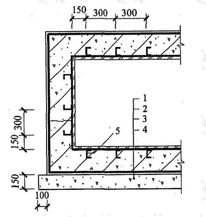 图4.6.3 金属板防水层
