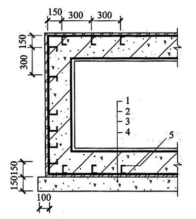 图4.6.4 金属板防水层
