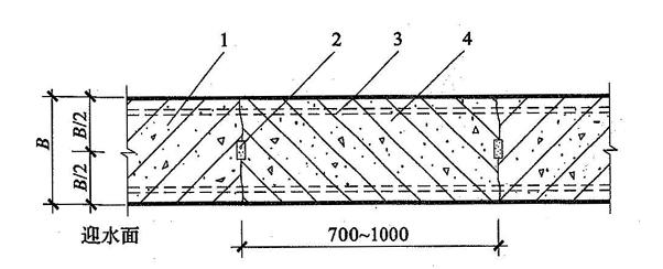 图5.2.5-1 后浇带防水构造(一)