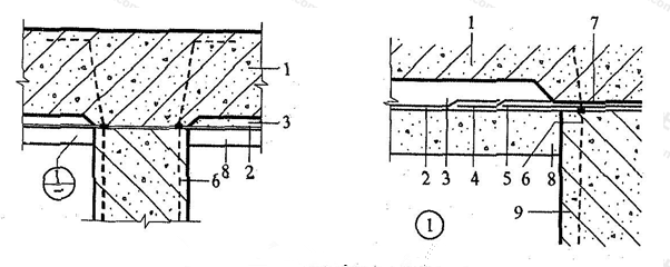 图5.6.3-1 桩头防水构造(一)