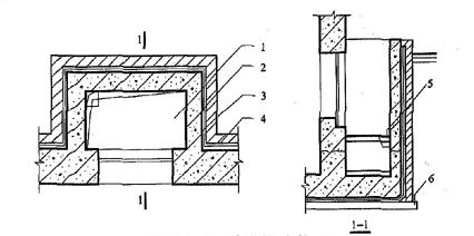 图5.7.3 窗井防水构造