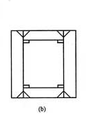 图8.4.2-1b 箱形组合柱的角部组装焊缝