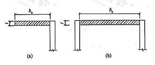 图6.2.1 横梁的截面部位示意