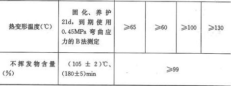 表4.2.2-1 以混凝土为基材,粘贴钢材用结构胶基本性能鉴定标准