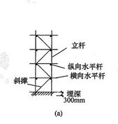 图6.2.2-2a 剪刀撑构造图(二)