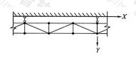 图6.1.8 水平斜杆设置示意