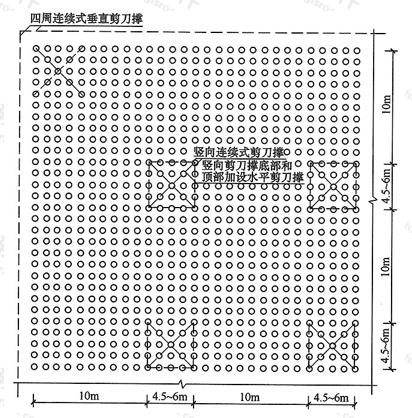 图6.2.4-1 剪刀撑布置图(一)