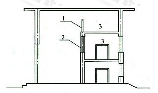 图1 建筑物内的局部楼层