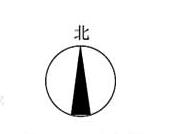 图7.4.3 指北针