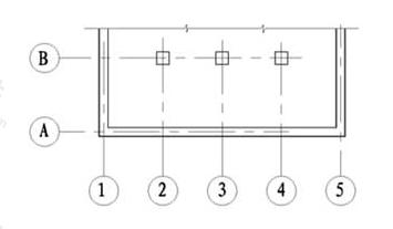 图8.0.3 定位轴线的编号顺序