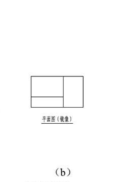 图10.1.2b 镜像投影法