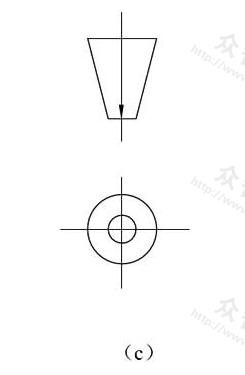 图10.1.2c 镜像投影法