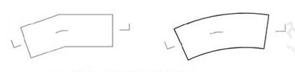 图10.3.2-3 两个相交的剖切面剖切