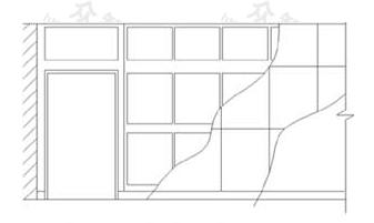 图10.3.3 分层剖切的剖面图
