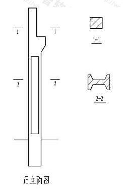 图10.3.4-1 断面图按顺序排列