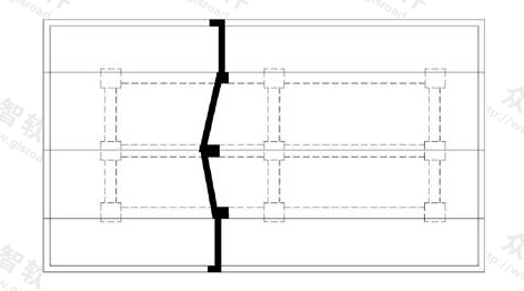 图10.3.4-3 断面图画在布置图上