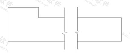 图10.4.3 折断简化画法