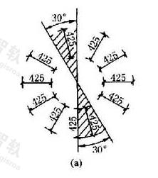 图11.2.3a 尺寸数字的注写方向