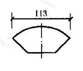 图11.5.3 弦长标注方法