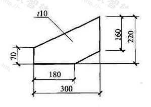 图11.6.1 薄板厚度标注方法