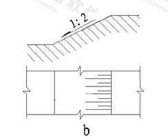 图11.6.3b 坡度标注方法