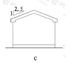 图11.6.3c 坡度标注方法