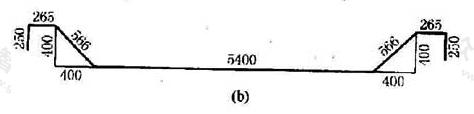 图11.7.1 单线图尺寸标注方法(b)