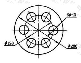 图11.7.3 相同要素尺寸标注方法