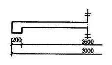 图11.7.4 对称构件尺寸标注方法