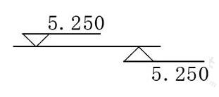 图11.8.3 标高的指向